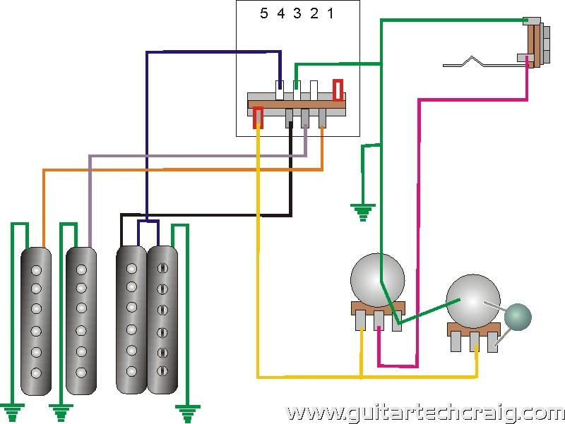 tech24 craig's giutar tech resource wiring diagrams Humbucker Coil Tap Wiring-Diagram at bayanpartner.co